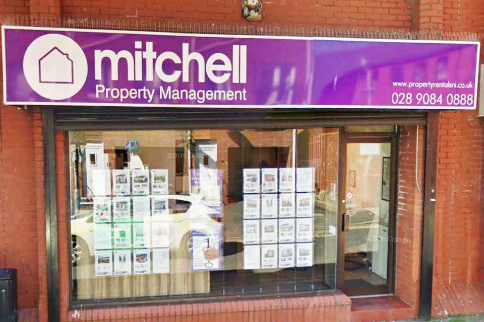 Mitchell Property Management Office Exterior